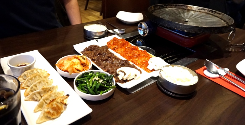 Mannaza Korean Restaurant Newcastle Menu