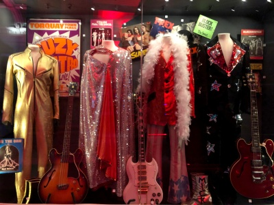 Stage Costumes of T-Rex, Suzy Quatro and others